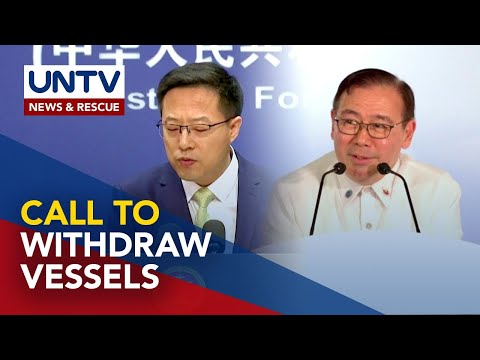 DFA calls out China to withdraw vessels in PH waters