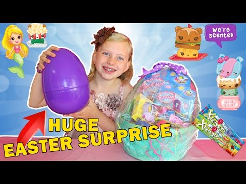 Giant Easter Basket Surprise!