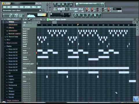 fl studio how to end a song
