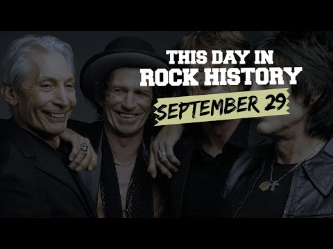 Rolling Stones Get Contemporary, the Boss Tips Big  - September 29 in Rock History