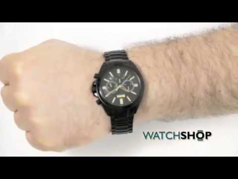 0f35e08b902 Hugo Boss Men s Chronograph Watch (1513277) - YouTube