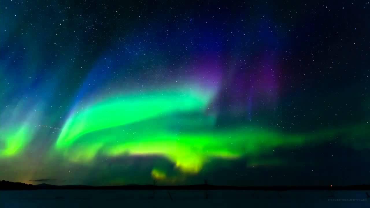 世上最美的風景~Terje Sorgjerd Time Lapse定時攝影) The Aurora 極光 @ 隨意窩