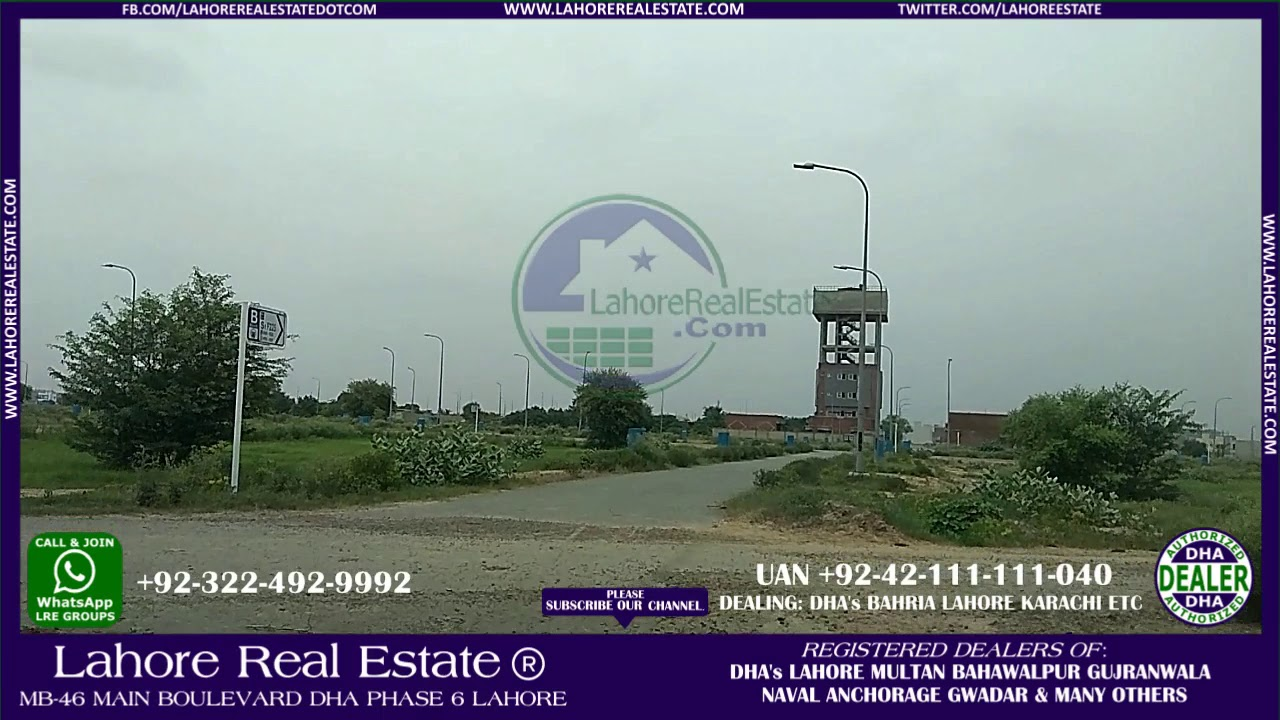 DHA 9 Town 16935 Lahore Real Estate  Com Ref