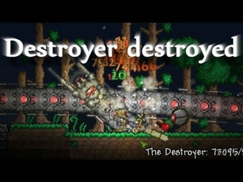 terraria how to make the destroyer