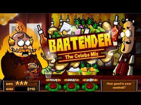 (Y8) Bartender: The Celebs Mix   Free Online Game Walkthrough