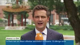 Nordkorea-Konflikt: Statements von Roland Strumpf und Eric Marr am 15.08.17