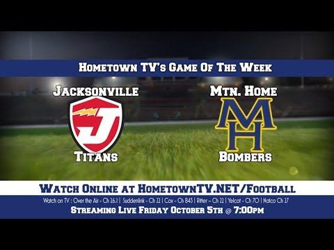 Jacksonville Titans vs Mtn. Home Bombers