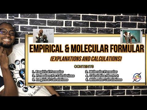 Empirical & Molecular Formulas   Explained With Calculations