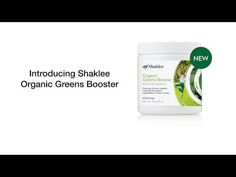 Shaklee Organic Greens Booster - Buy Organic Greens Online from Shaklee