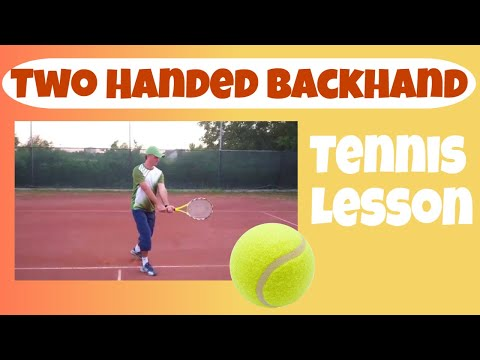 Two Handed Backhand - Progression Drills (Tennis)