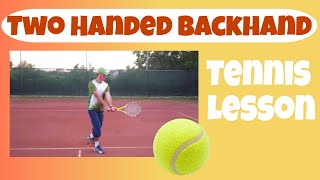 Video Two Handed Backhand - Progression Drills (Tennis) download MP3, 3GP, MP4, WEBM, AVI, FLV Juni 2018