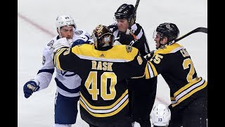 Bruins Fan Review - Game 76 - First Place!!! - Bos 4, TBL 2