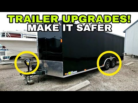 Best Trailer Upgrades For RVs, Travel Trailers, Or Cargo Trailers
