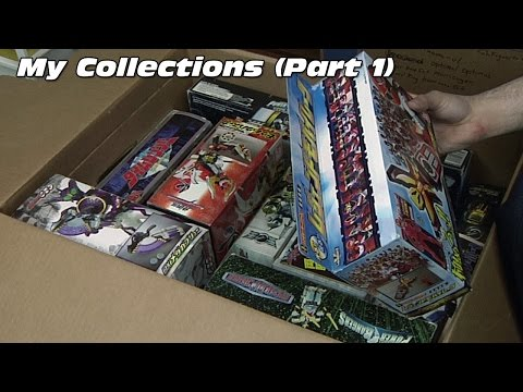 My Collectables - Part I (Power Rangers, Super Sentai)
