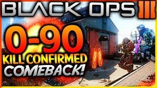 "BLACK OPS 3 - ""0-90 KILL CONFIRMED COMEBACK WIN!"" - Team Challenge #41! (EPIC CLUTCH WIN!)"