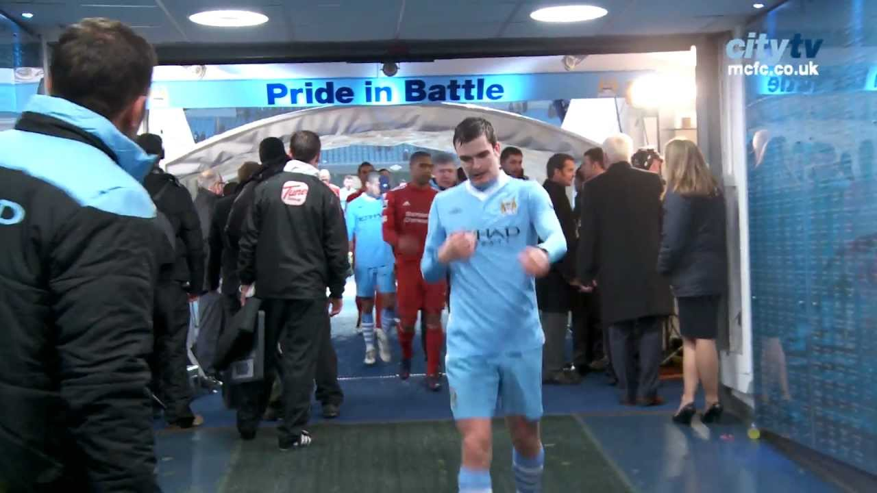 Man City Tunnel Cam