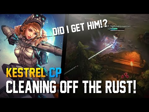 Vainglory Gameplay - Episode 323: CLEANING OFF THE RUST!! Kestrel |CP| Jungle Gameplay [Update 2.6]