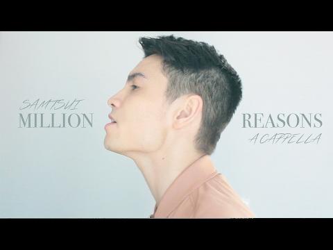 Million Reasons Lady Gaga - A CAPPELLA cover - Sam Tsui