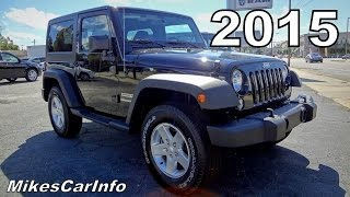 2015 JEEP WRANGLER SPORT Black