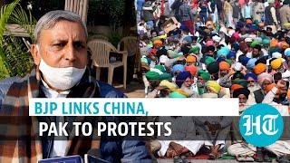 China, Pakistan behind farmer protests: Haryana minister's claim amid talks