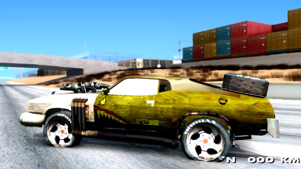 mad max 2 ford falcon gta san andreas youtube. Black Bedroom Furniture Sets. Home Design Ideas