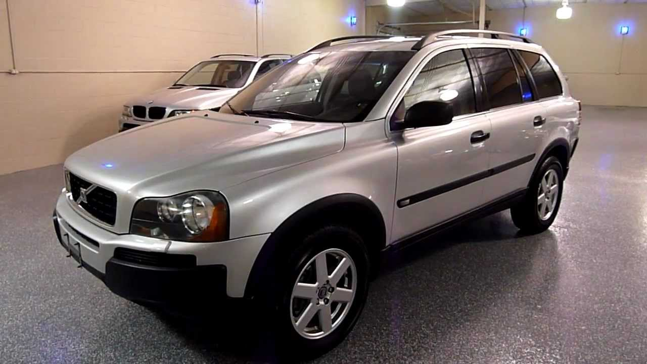 2005 volvo xc90 4dr 2 5l turbo awd 7 passenger 2087. Black Bedroom Furniture Sets. Home Design Ideas