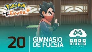 Pokémon Let's Go Pikachu & Eevee en Español | Capítulo 20: Gimnasio Ciudad Fucsia (Koga)