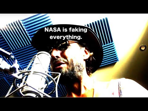 The BEST FLAT EARTH song EVER!! Must listen   Nasa faking everything   flat earth man song