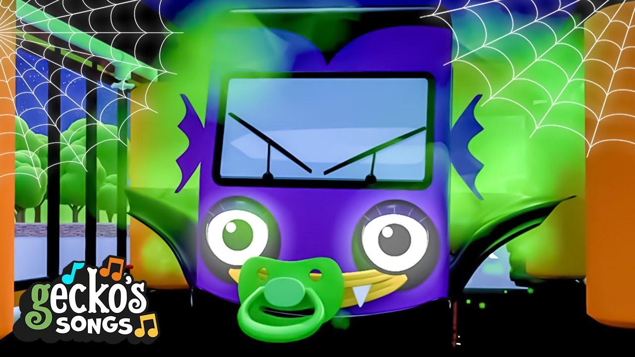 Baby Truck Halloween|Gecko's Garage|Children's Music|Trucks For Kids|Gecko's Songs