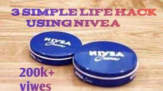 3 simple life hack using nivea||best life hacks