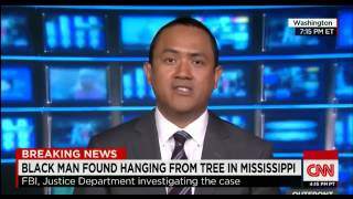 Black Man Hanging from tree in Mississippi Otis Byrd Lynching