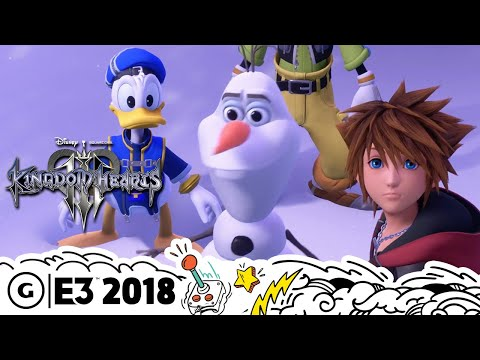 Kingdom Hearts 3 Goes Deeper Into Disney's Worlds Than Some of the Movies | E3 2018