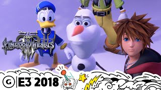 Kingdom Hearts 3 Goes Deeper Into Disney