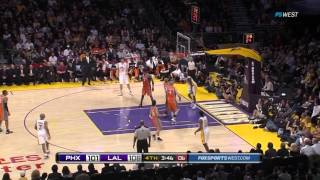 los angeles lakers vs phoenix suns game of the year 03 22 2011