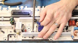Samsung БН44-00264A живлення компонентів ремкомплект підручник - телевізор не включається