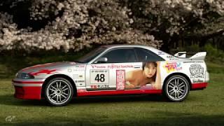 NMB48 白間美瑠 x Nissan GTR R33 - Grand prix (GT Sport)