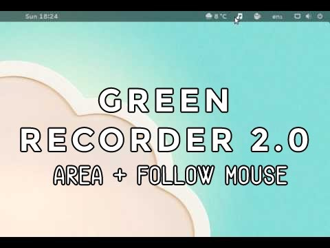 Green Recorder 2 0 Released, Lets You Screen Record Wayland