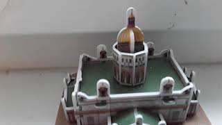 3D ПАЗЛ ИСАКИЕВСКИЙ СОБОР