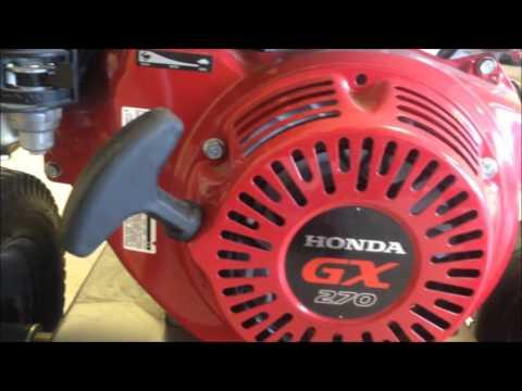 Product Walkaround: Honda GX270 Engine Powered Pressure Washer, BE Pressure B389HA
