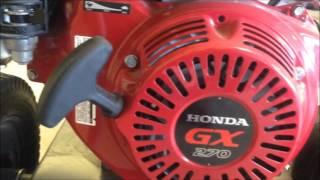 product walkaround honda gx270 engine powered pressure washer be pressure b389ha