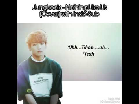 [IND SUB] 정국 방탄소년단 - Nothing Like Us Cover Lyric (Jungkook BTS - Nothing Like Us)