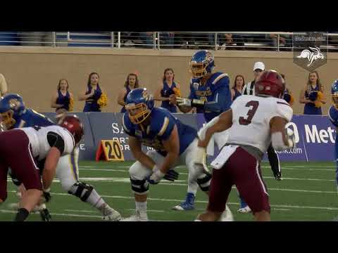 Football vs Southern Illinois Highlights (10.07.2017)