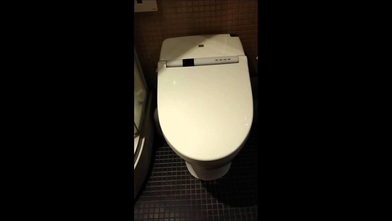 Japanese electronic toilet seat YouTube