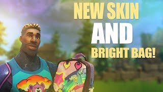 Fortnite Battle Royale - BRIGHT BAG FINALLY RELEASED! *NEW SKIN*