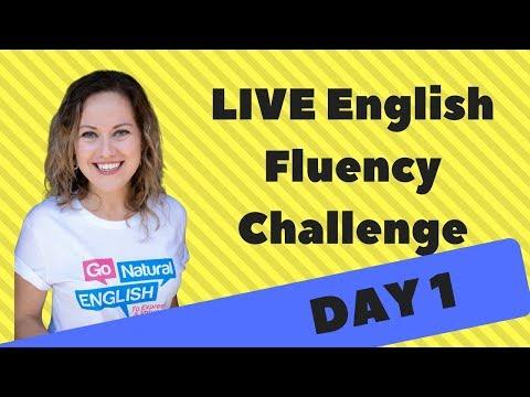 English Fluency Challenge Day 1