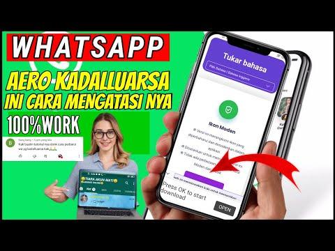 Cara Memperbarui WhatsApp Aero V8 80 Terbaru 2021