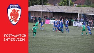 POST MATCH: Kev Barry on Sutton Coldfield result