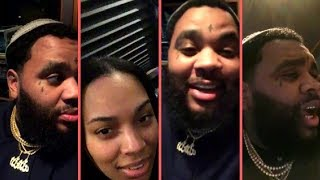 Kevin Gates and His Wife Dreka Go Live On Instagram For First Time After Chained To The City Release