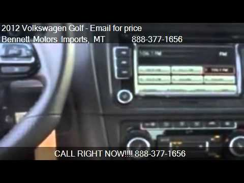 2012 volkswagen golf 4 door for sale in great falls mt for Bennett motors great falls mt