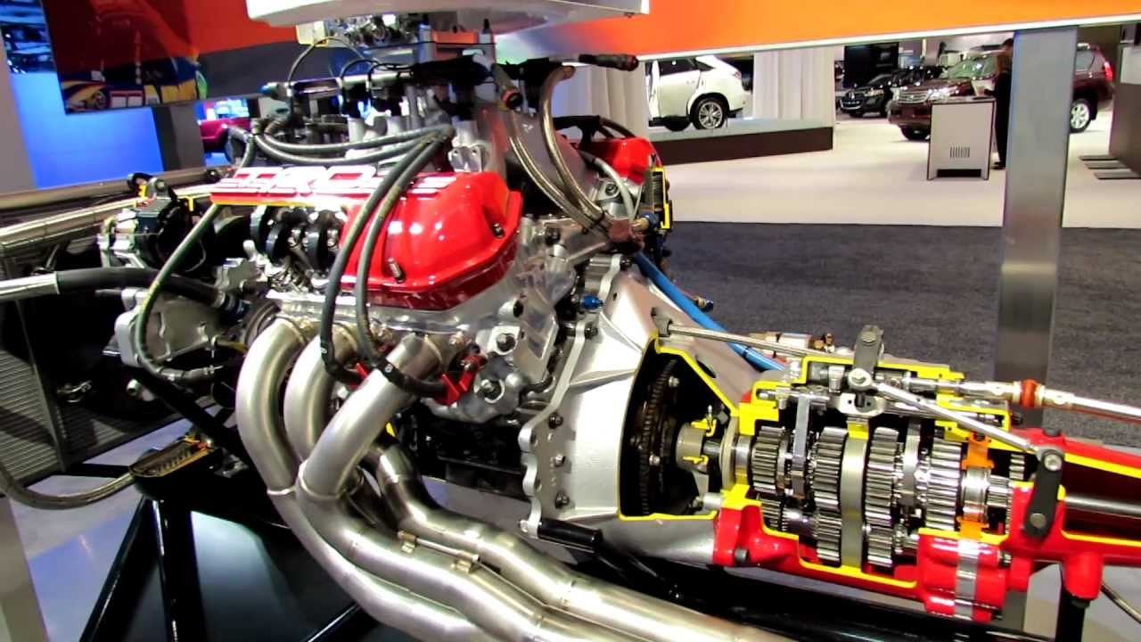 Image gallery trd motors for What motor does nascar use